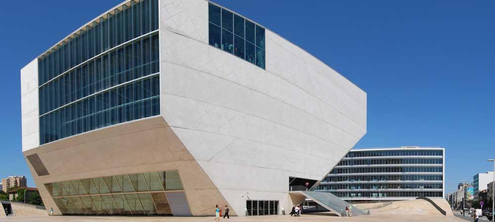 Casa da Música en Oporto