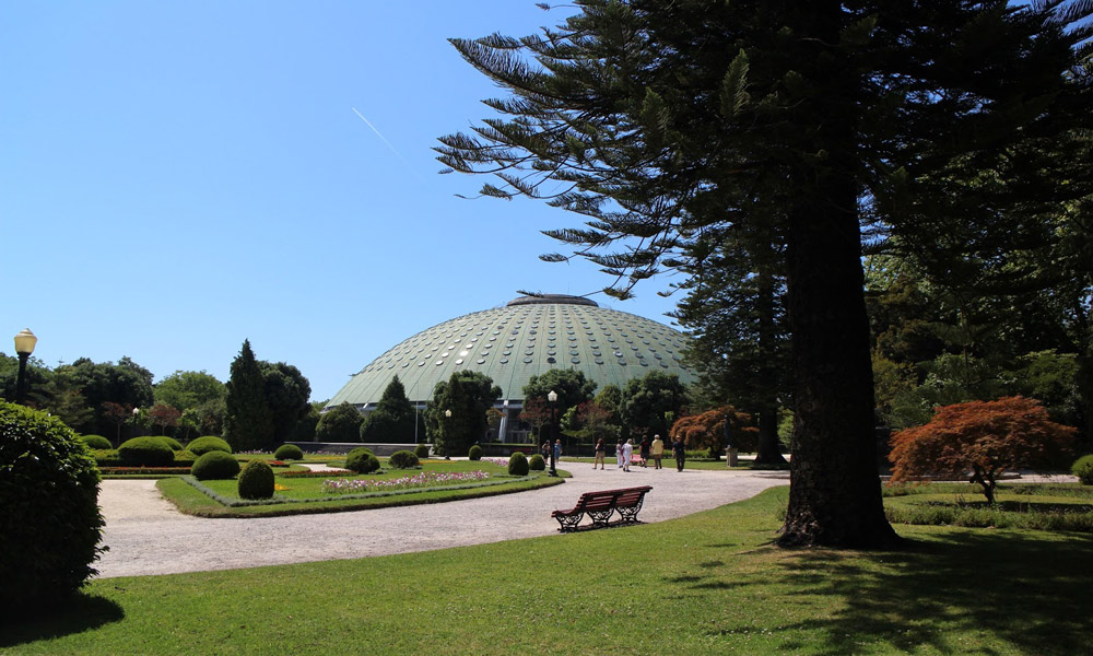 Jardín del Palacio de Cristal