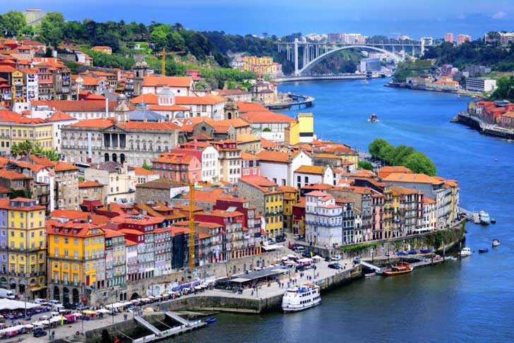 La Ribeira Oporto Portugal